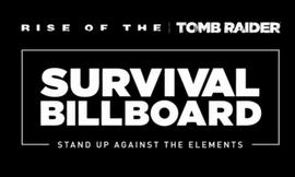 Xbox创意广告:Survival Billboard